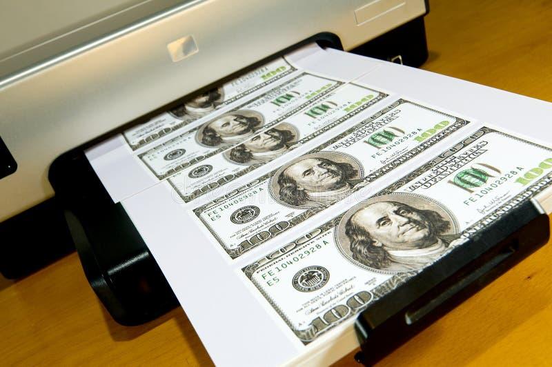домашние делая деньги стоковая фотография