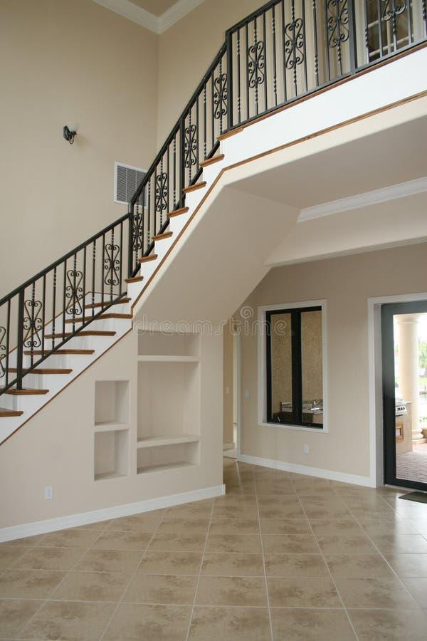 домашние лестницы стоковое фото rf
