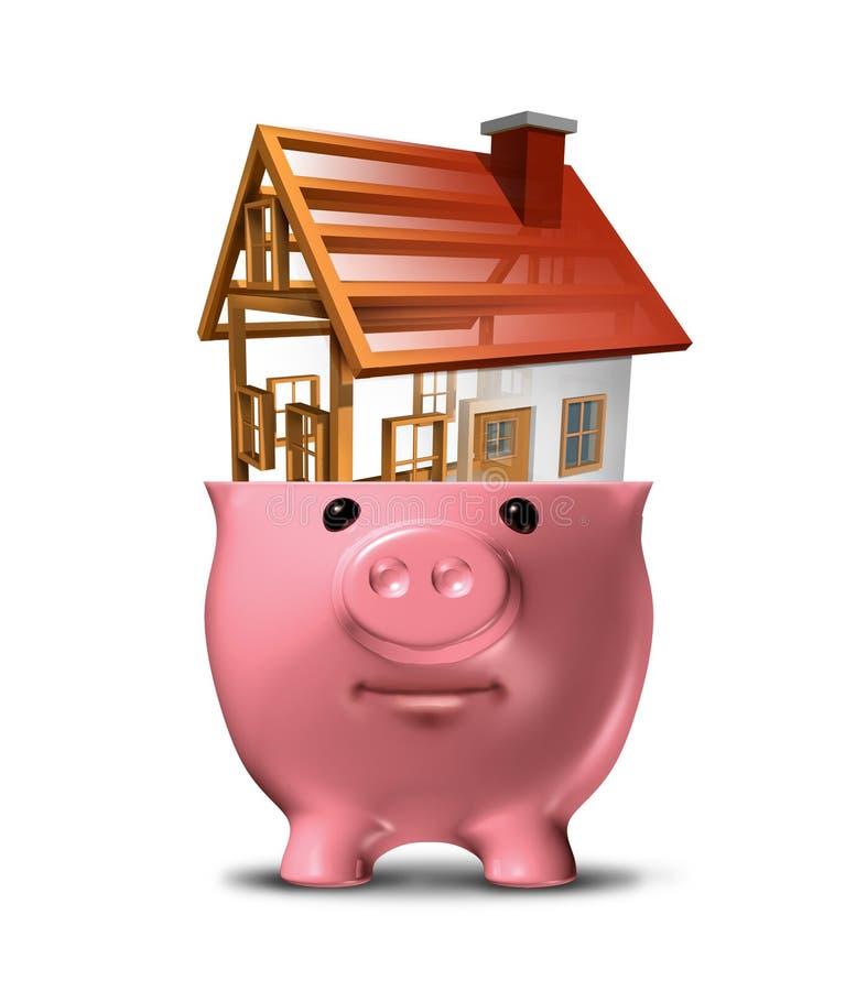 Домашние сбережения иллюстрация штока