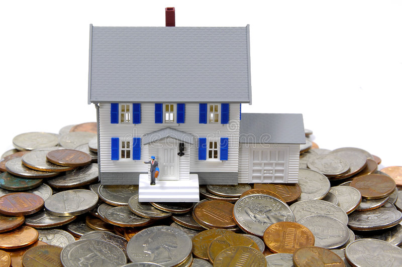домашние сбережения стоковая фотография