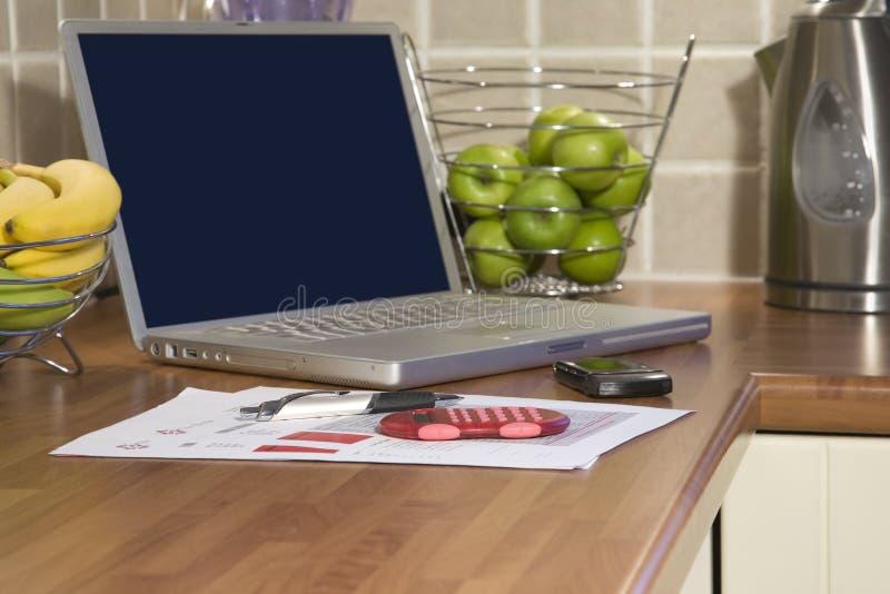 Домашние финансы и учет стоковые изображения rf