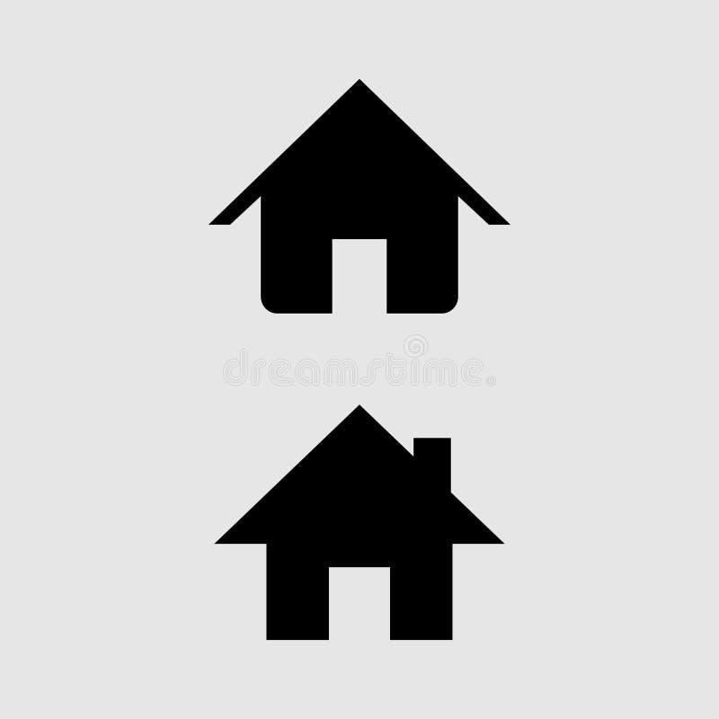 Домашний вектор значка бесплатная иллюстрация