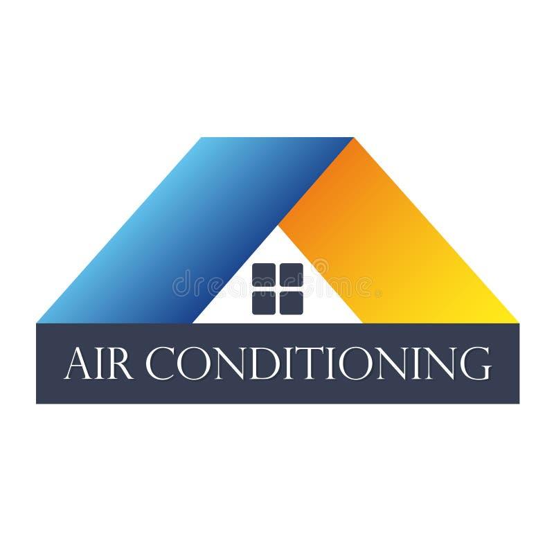 Домашний кондиционер воздуха иллюстрация штока