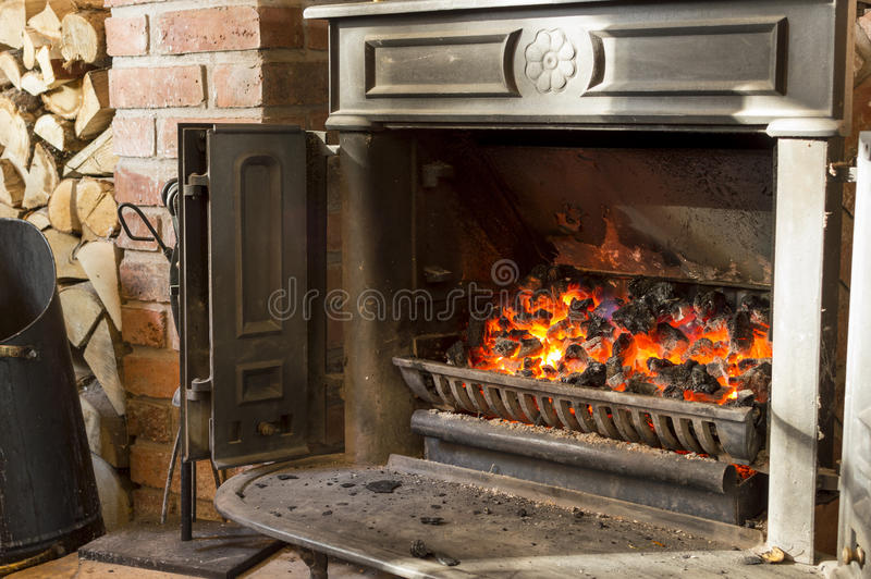 Домашний огонь стоковое изображение rf