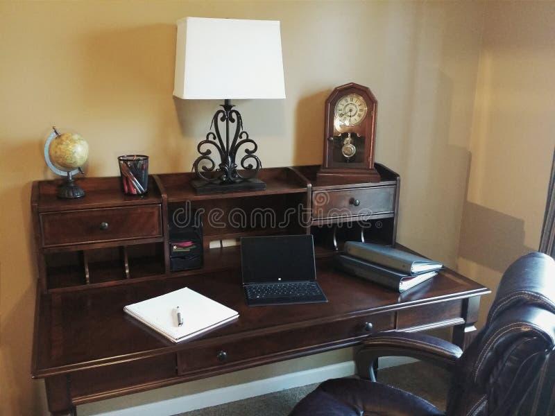 Домашний офис стоковые фотографии rf