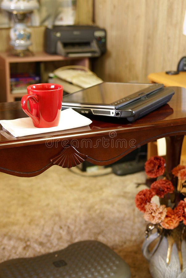 домашний офис стоковые изображения rf