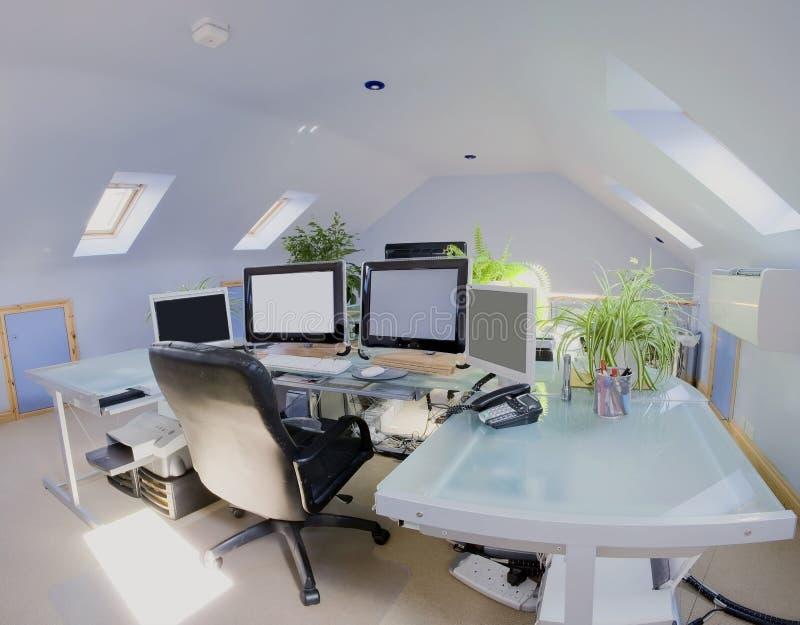 домашний офис стоковое фото rf