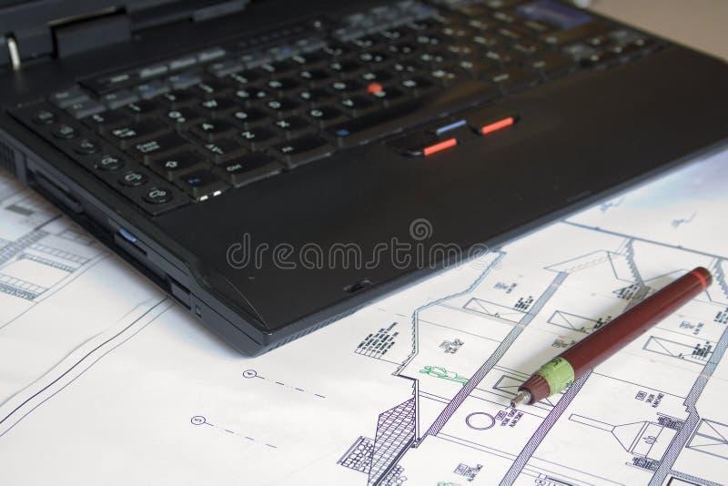 домашний план стоковое изображение