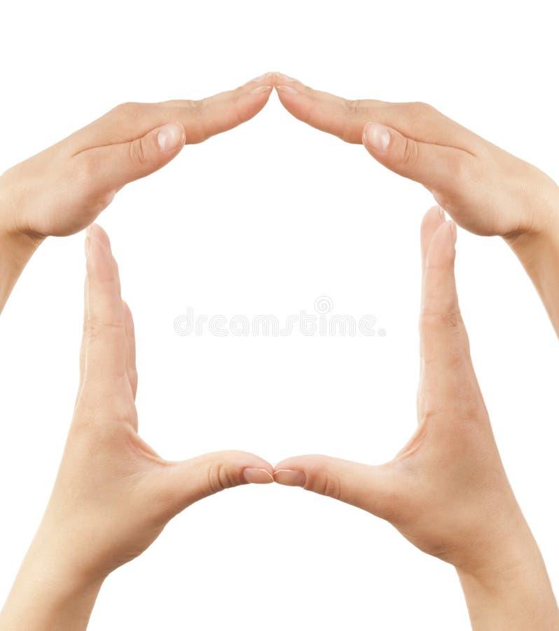 домашний символ стоковые изображения