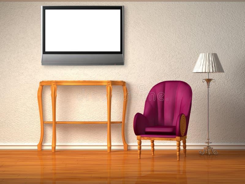 домашний театр иллюстрация вектора