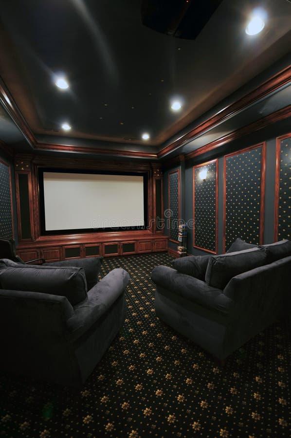 домашний театр стоковая фотография rf