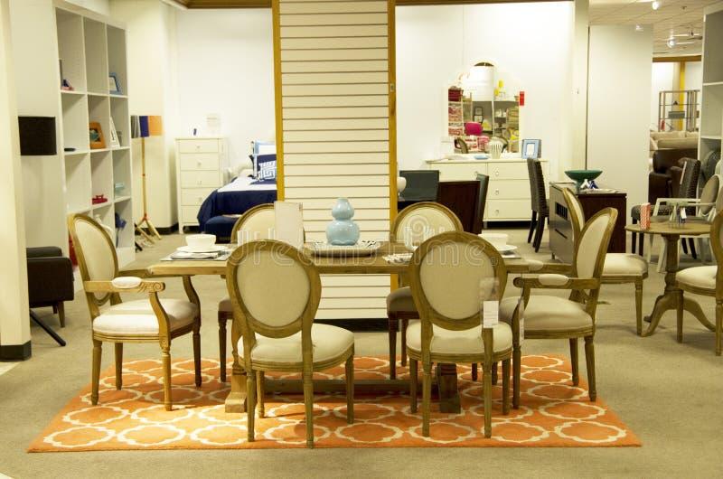 Домашний универмаг мебели стоковая фотография
