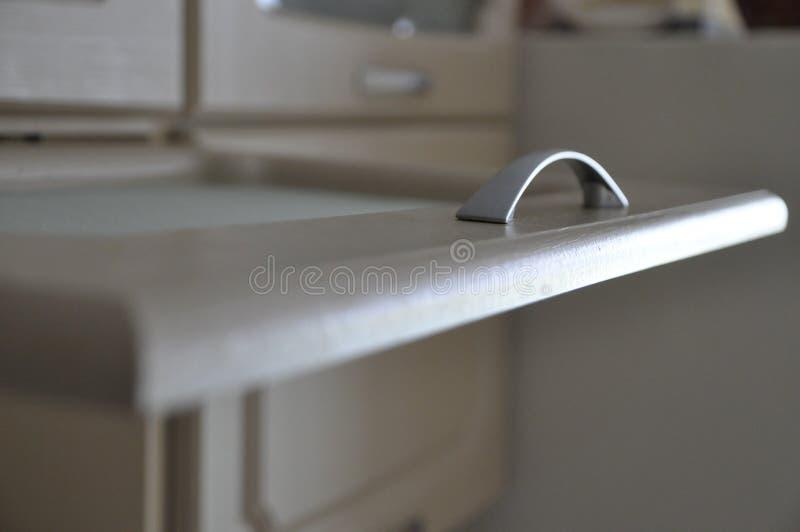 домашний холодильник кашевара еды кухни стоковое изображение