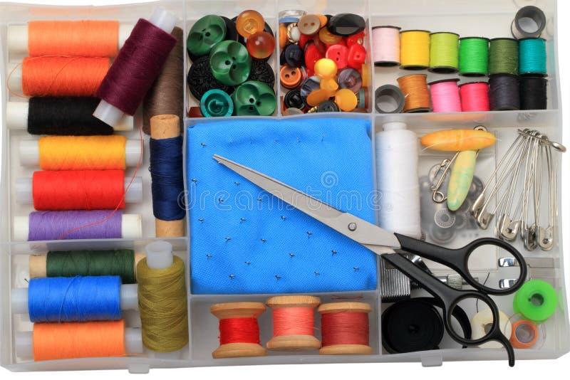 домашний шить стоковое изображение