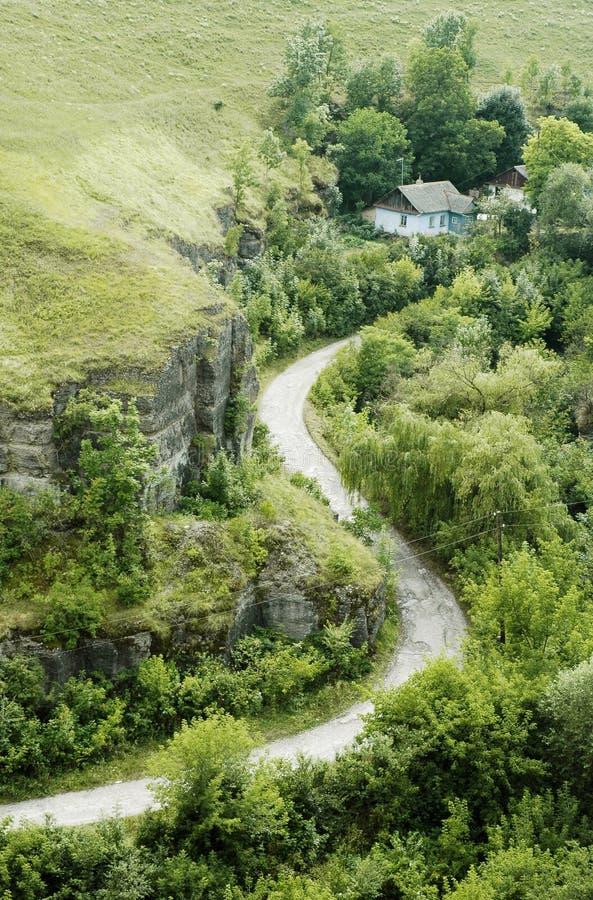 домашняя дорога к стоковое фото rf