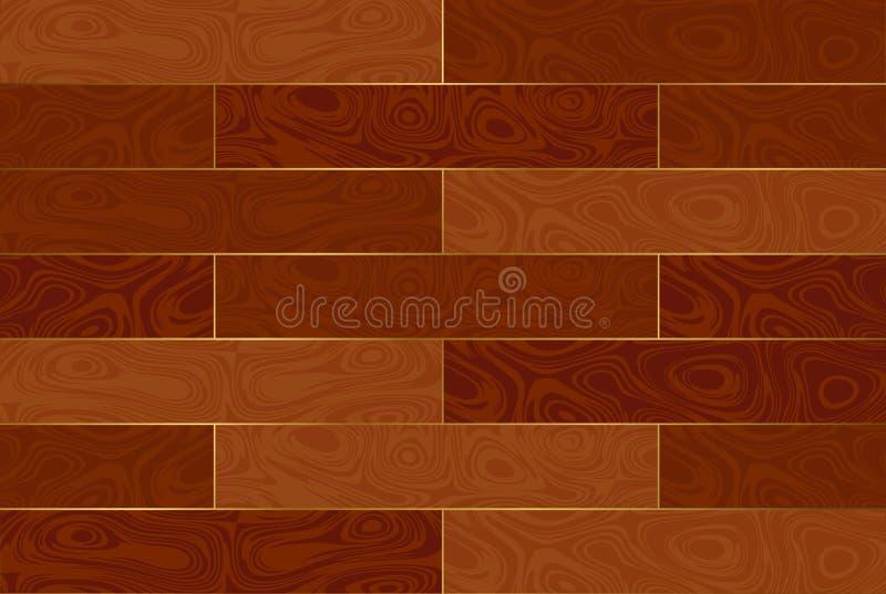домашняя древесина текстуры партера иллюстрация вектора