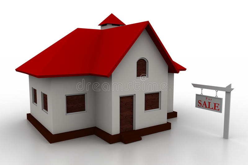 Домашняя концепция иллюстрация штока