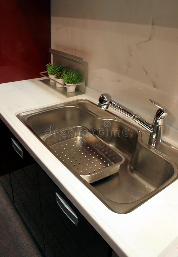 домашняя кухня интерьеров стоковое фото rf