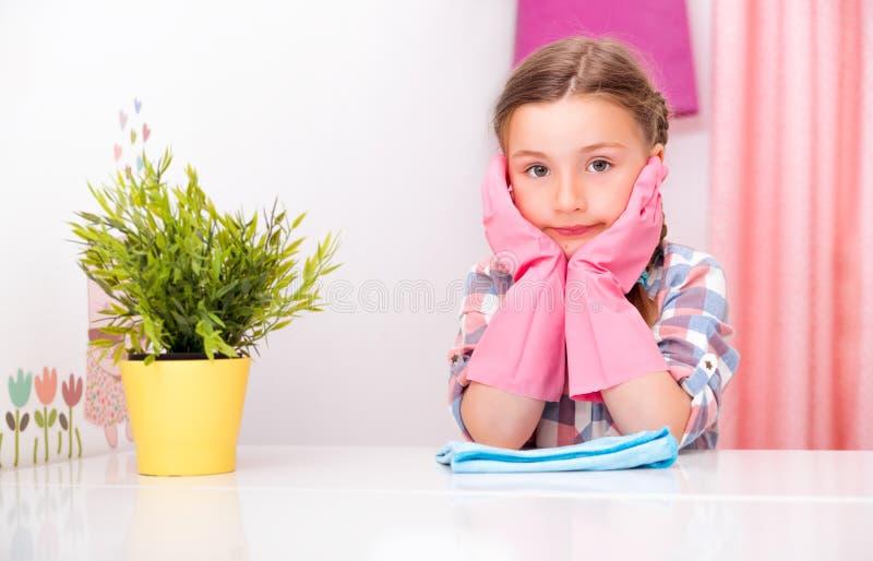 Домашняя работа всасывает детей стоковые изображения