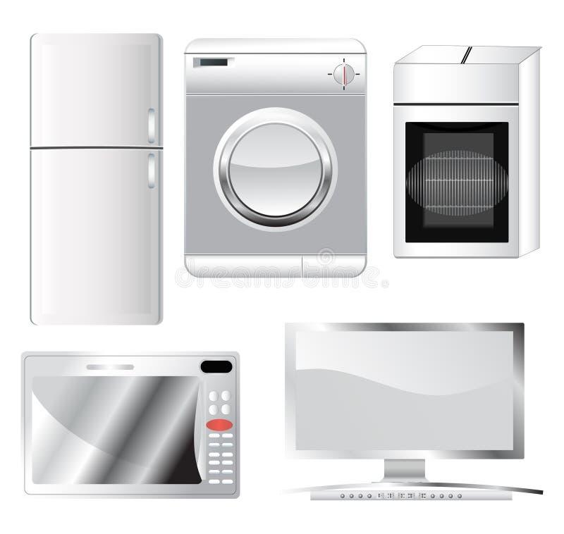 Домашняя электроника бесплатная иллюстрация