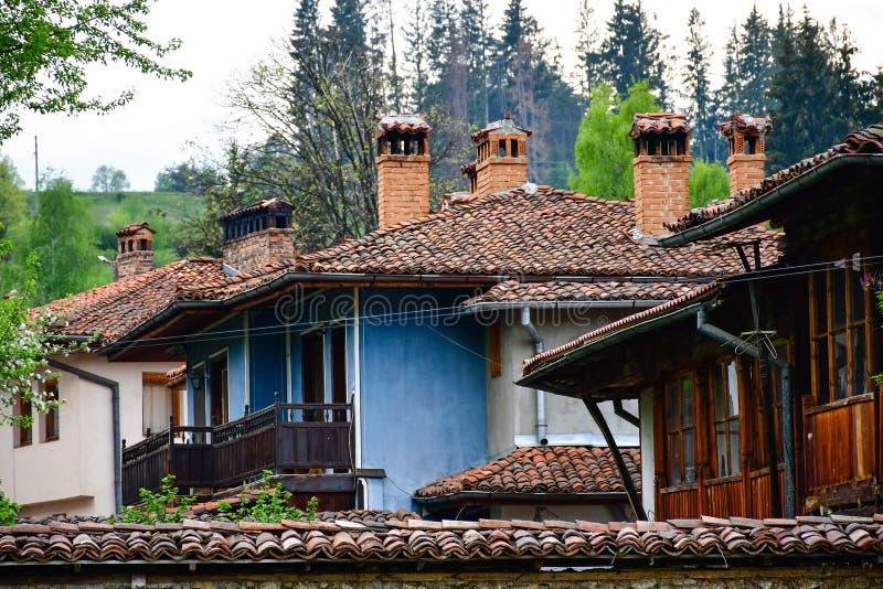 Дома болгарина Тraditional стоковая фотография rf