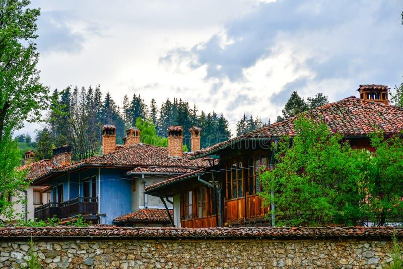 Дома болгарина Тraditional стоковые изображения rf