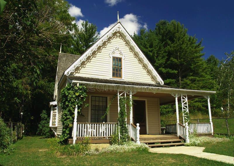 дома викторианец довольно стоковое фото rf
