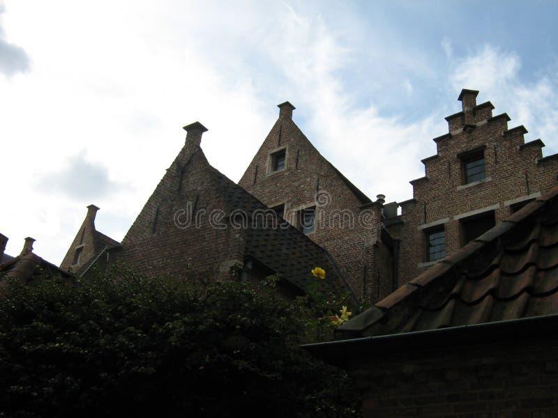 Дома в Gent стоковая фотография