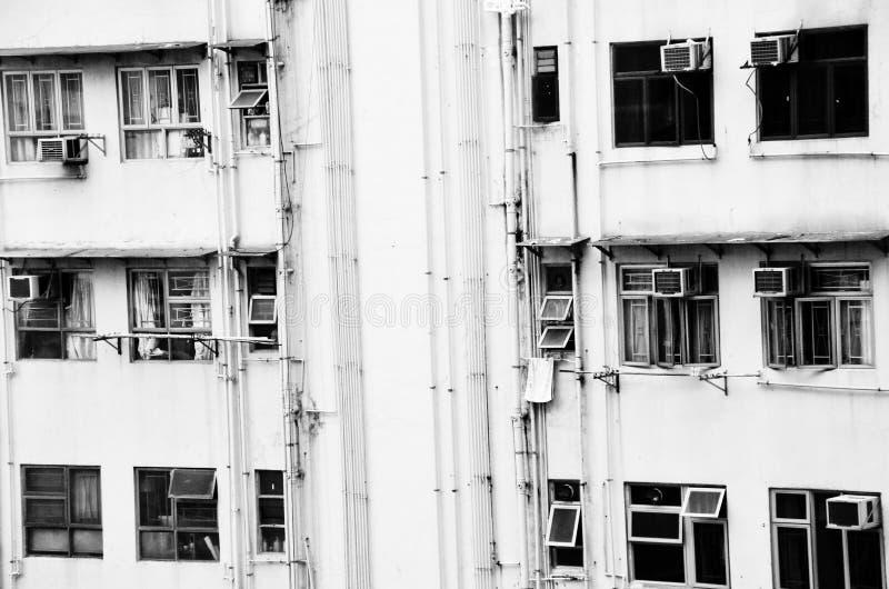 Дома Гонконга стоковая фотография