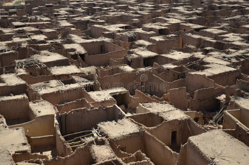 Дома грязи, Al Ula, Саудовская Аравия стоковое изображение rf