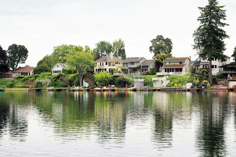 Дома портового района стоковое изображение
