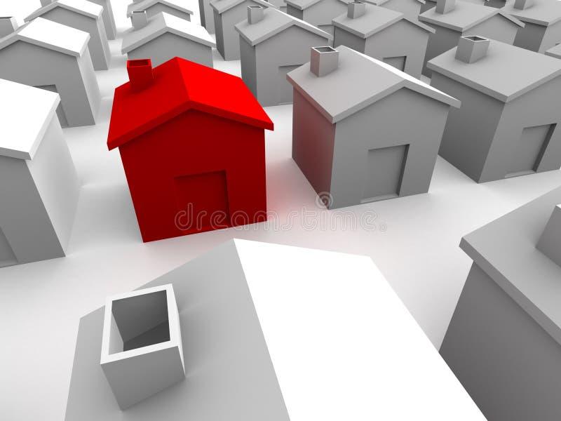 дома 3d бесплатная иллюстрация
