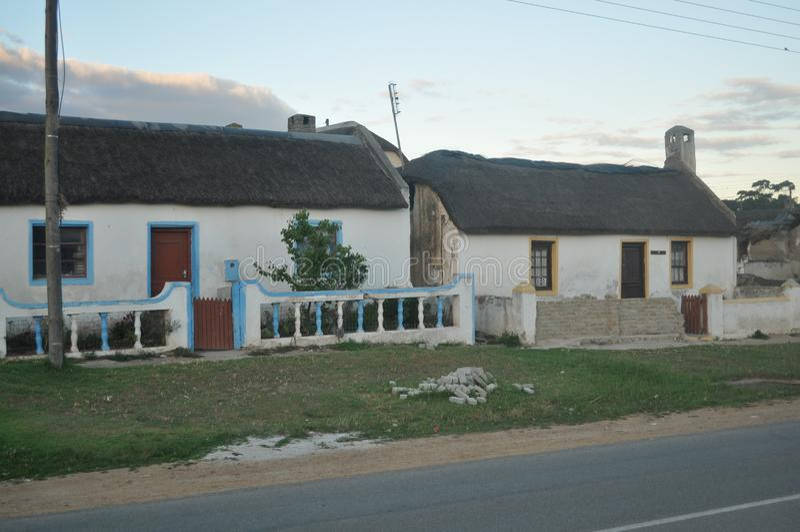 Дома RDP в Elim стоковое изображение
