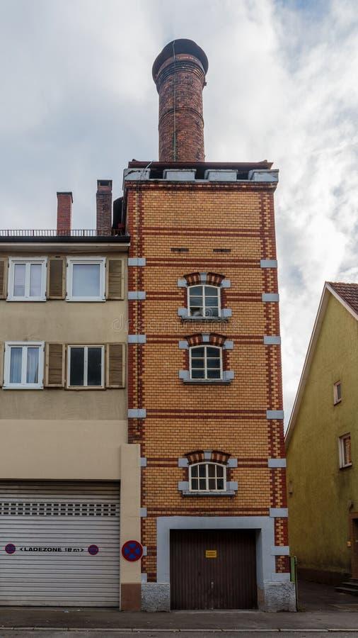 Дома Tuttlingen исторические стоковые изображения