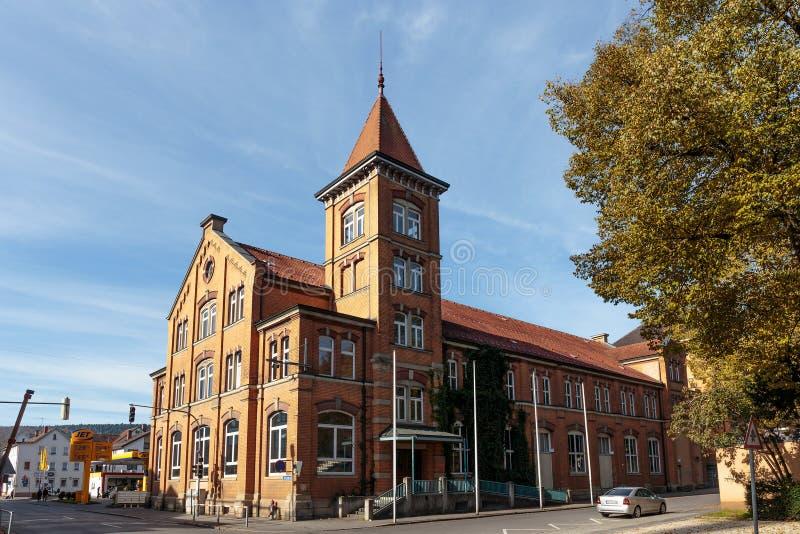 Дома Tuttlingen исторические стоковое изображение