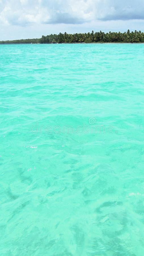 Доминиканская Республика, естественный бассейн стоковая фотография rf