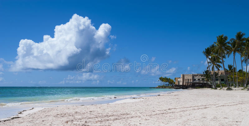 Доминиканская Республика juanillo Playa стоковое фото