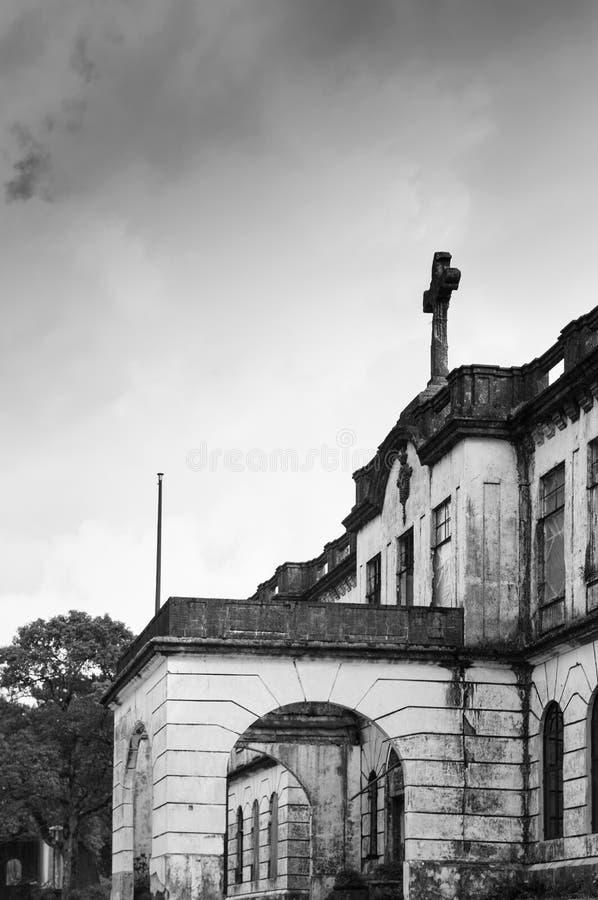 Доминиканский дом отступления холма, Baguio, Филиппины стоковые изображения rf