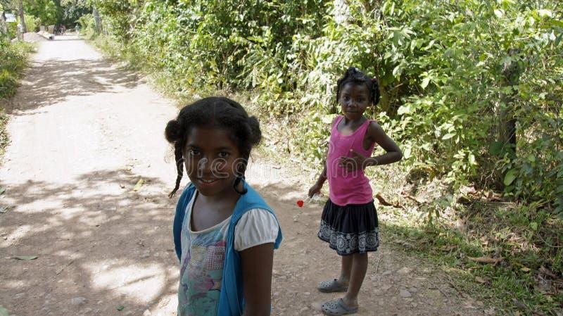 Доминиканский ребенок стоковое фото