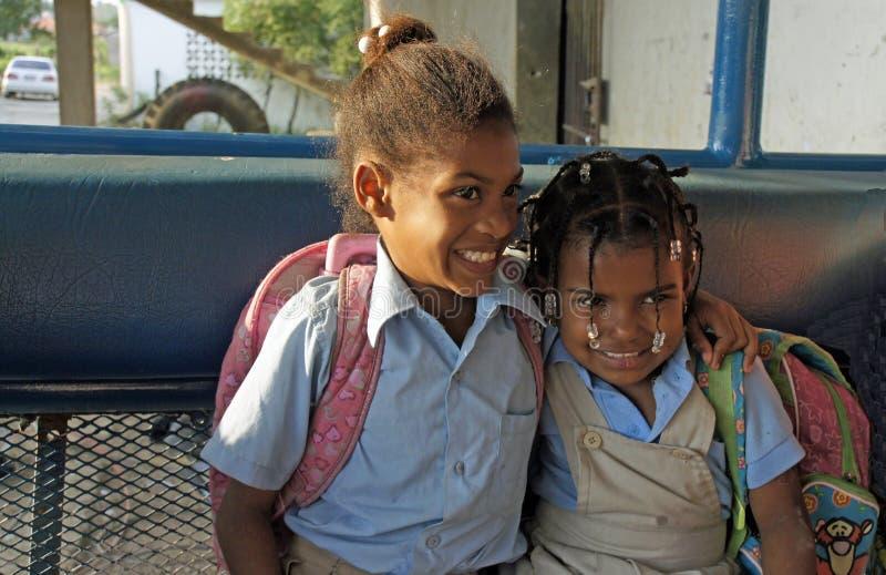 Доминиканский ребенок стоковое изображение rf