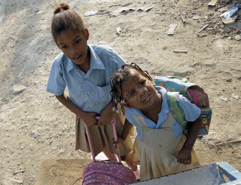 Доминиканский ребенок стоковые фотографии rf