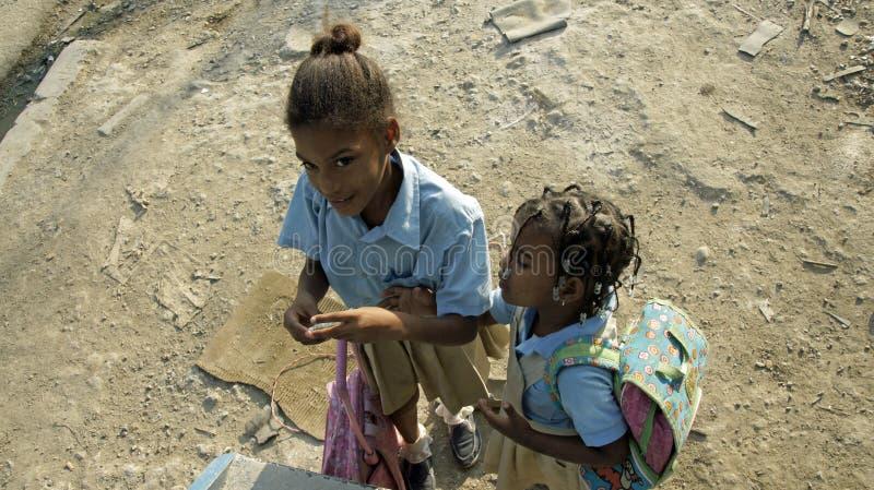 Доминиканский ребенок стоковые изображения rf