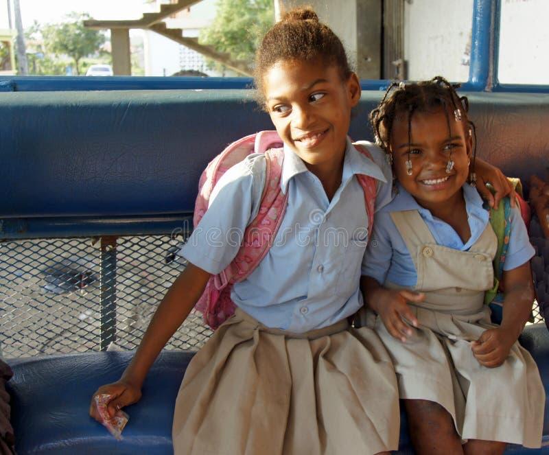 Доминиканский ребенок стоковое изображение