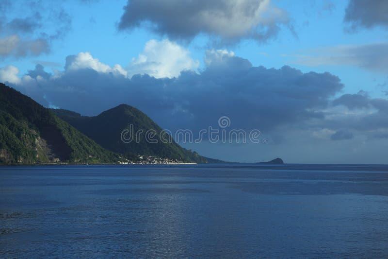 Доминика, карибские острова стоковая фотография