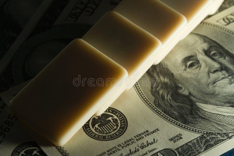 домино доллара мы стоковая фотография