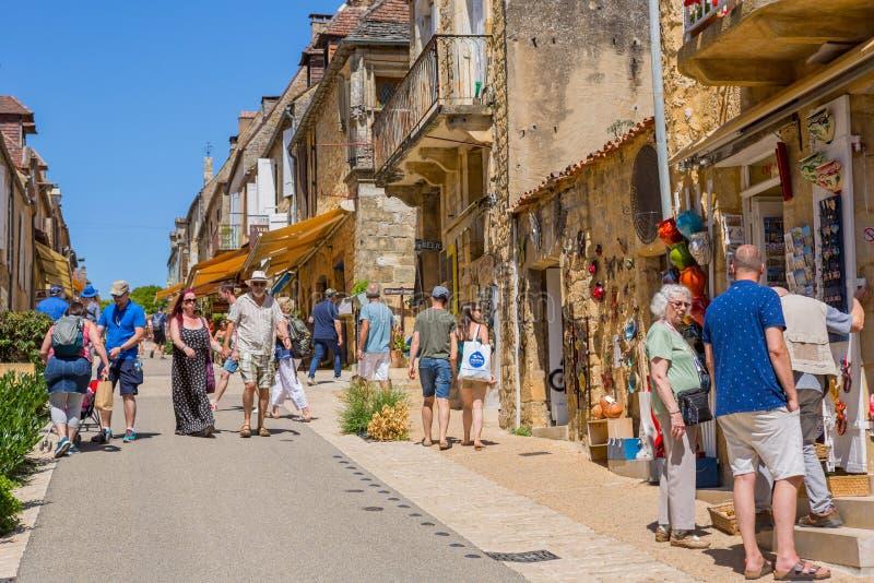 Домме, Дордонь, Франция стоковое изображение