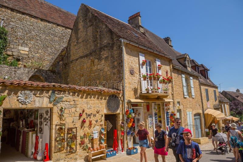Домме, Дордонь, Франция стоковые фото