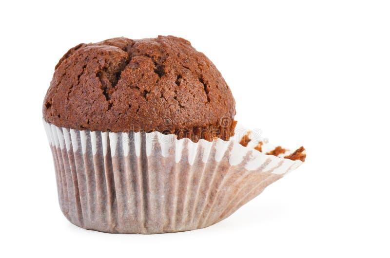 Домодельная булочка шоколада стоковое изображение