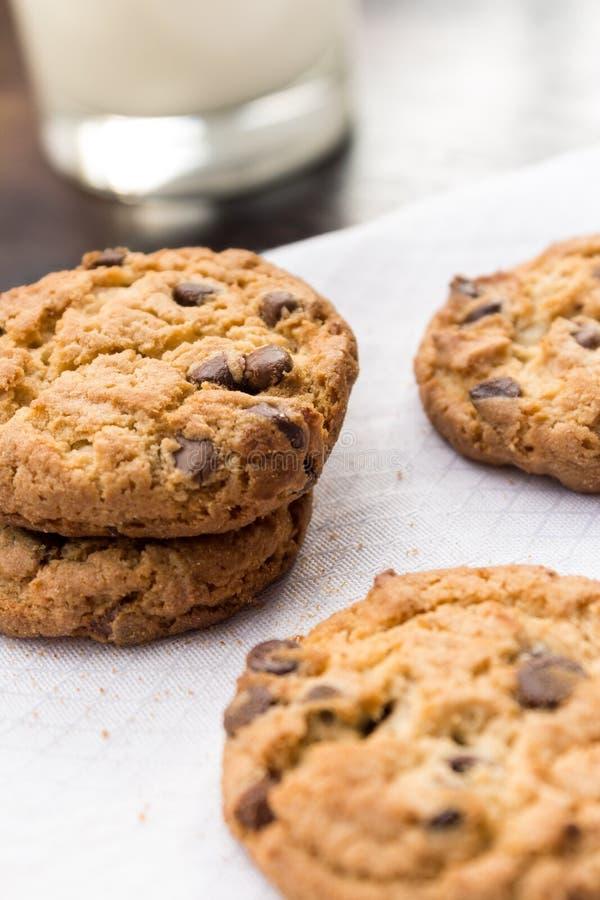 Домодельные печенья для завтрака стоковые фото
