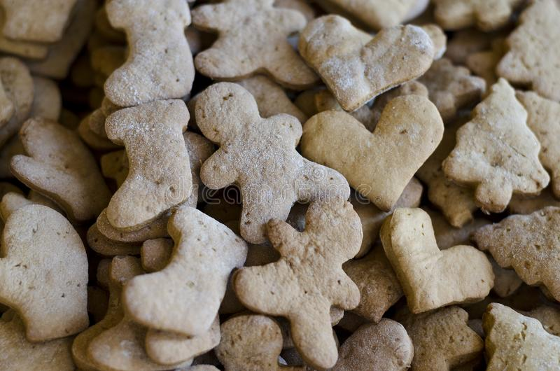 Домодельные сортированные печенья стоковые фото